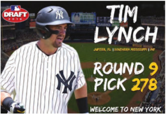 Tim Lynch drafted by the Yankees